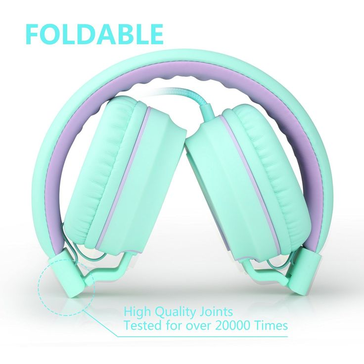 Ailihen headphones with foldable headbands. High quality joints tested for over 2000 times : http://amzn.to/2bXybEL
