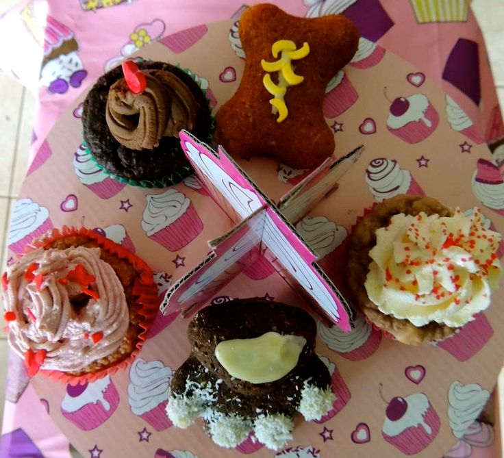 Pupcakes, cupcakes for doggies from Barkday Paw-ty.