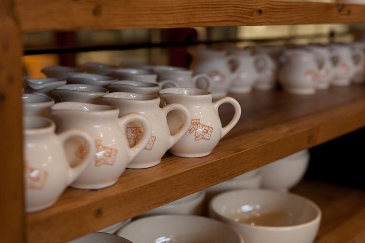 Mini jugs for milk or hot chocolate