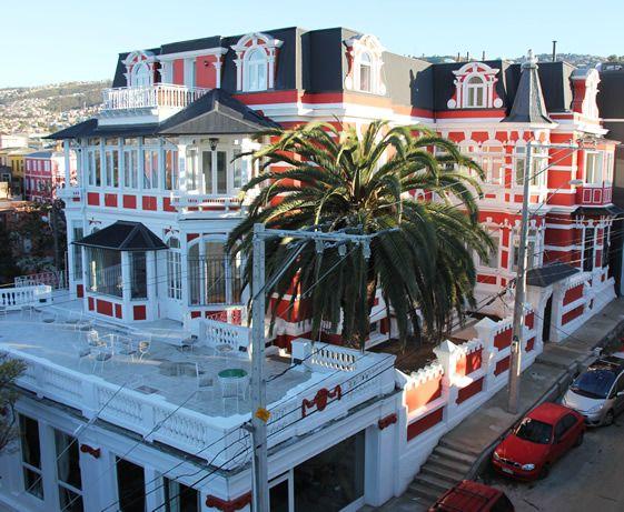 Palacio Astoreca, Valparaiso.