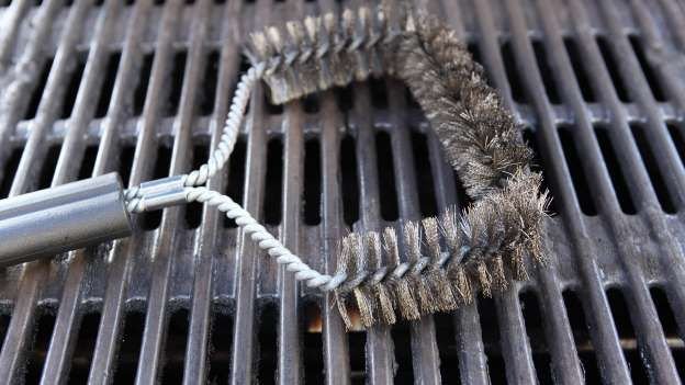 how to clean bbq grill with baking soda