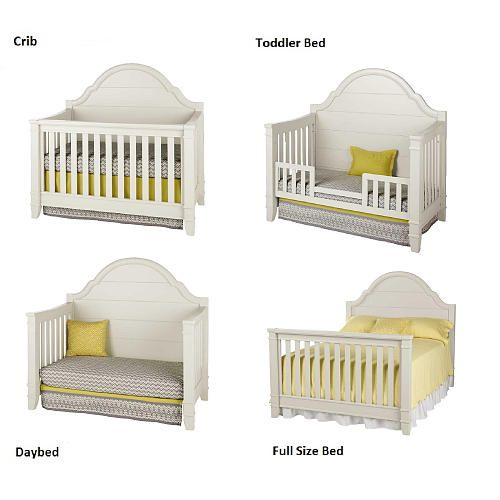million dollar baby classic sullivan 4in1 convertible crib dove million
