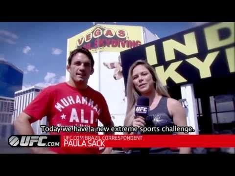 UFC on FOX 8: Jake Ellenberger Skydive Challenge