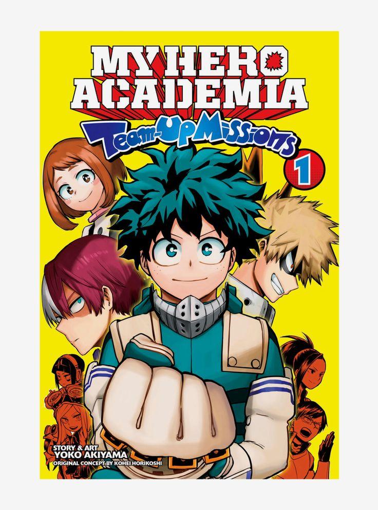 My Hero Academia Team Up Missions Volume 1 Manga En 2021 Anime Mangas Hero Academia My Hero Academia