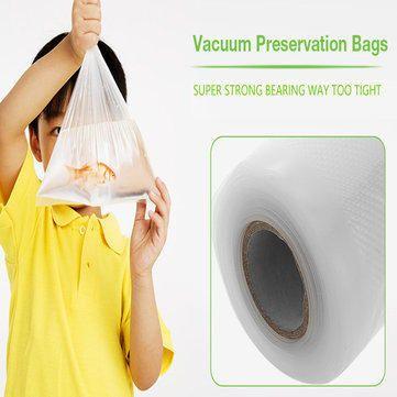 KCASA KC-VB07 30x500cm Vaccum Sealing Bag Roll Food Sealer machine Bag Kitchen Storage Fresh-keeping Bag General Food Saver Bag at Banggood