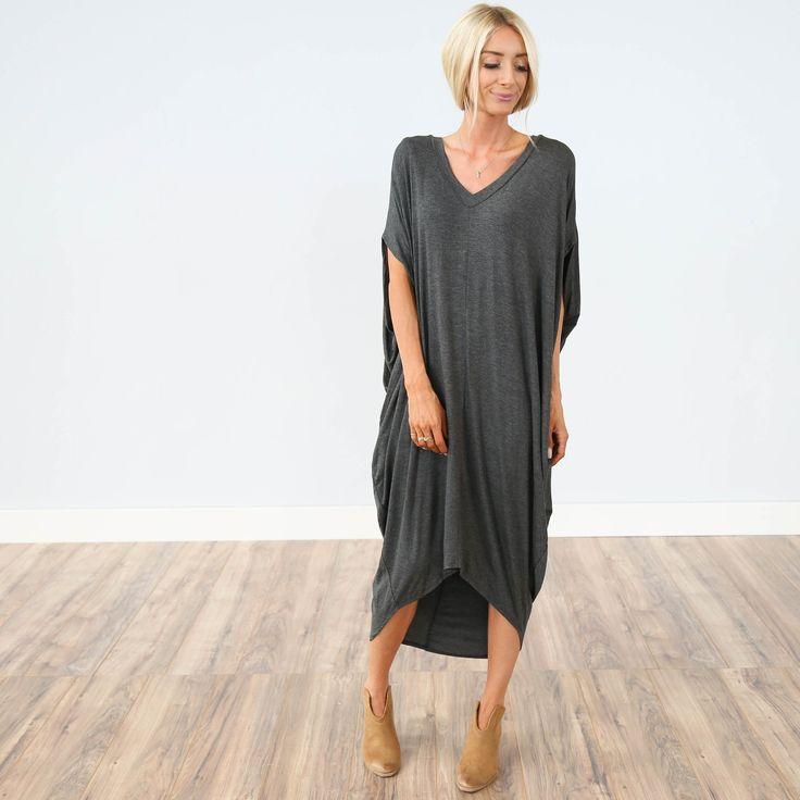 Somerset Charcoal Dress.