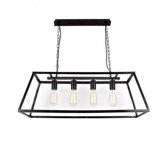 Vintage Lantern Long Pendant Light