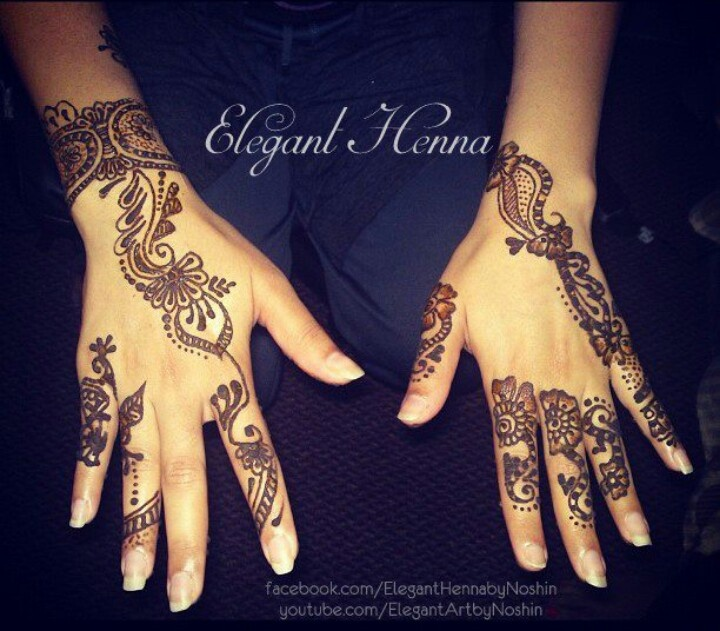 Henna Qaisar Designs Instagram : Henna eleganthenna mehndi tattoo https facebook