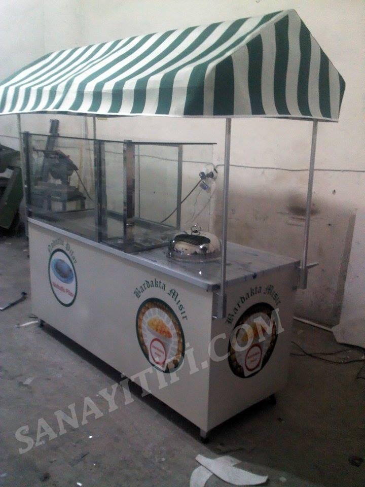Nohutlu Pilav + Bardakta Mısır Standı » - Sanayi tipi