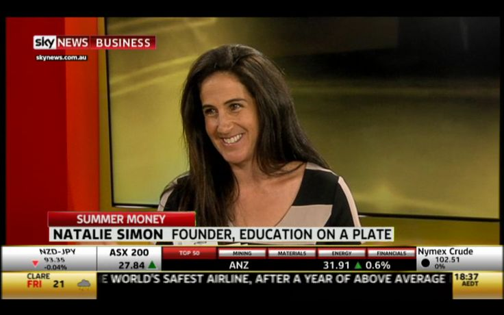 Wow, what a great experience this was! Watch Education on a Plate's Live interview with Sky News Business: http://youtu.be/FHoAJYPRRww