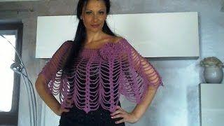 Repeat youtube video UNCINETTO: MANTELLINA COPRISPALLE ELEGANTE INVERNALE