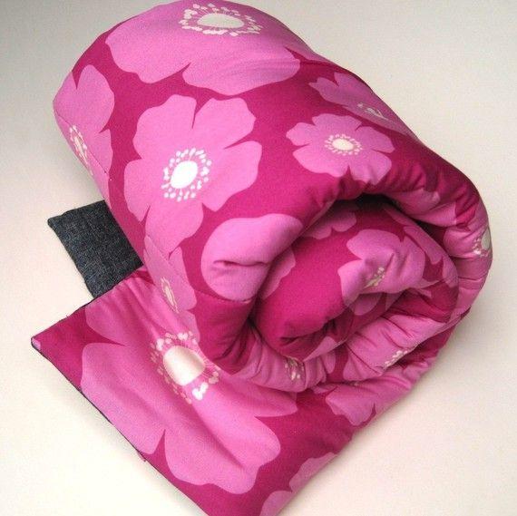 handmade children's nap mats   sewn natural #marimekko