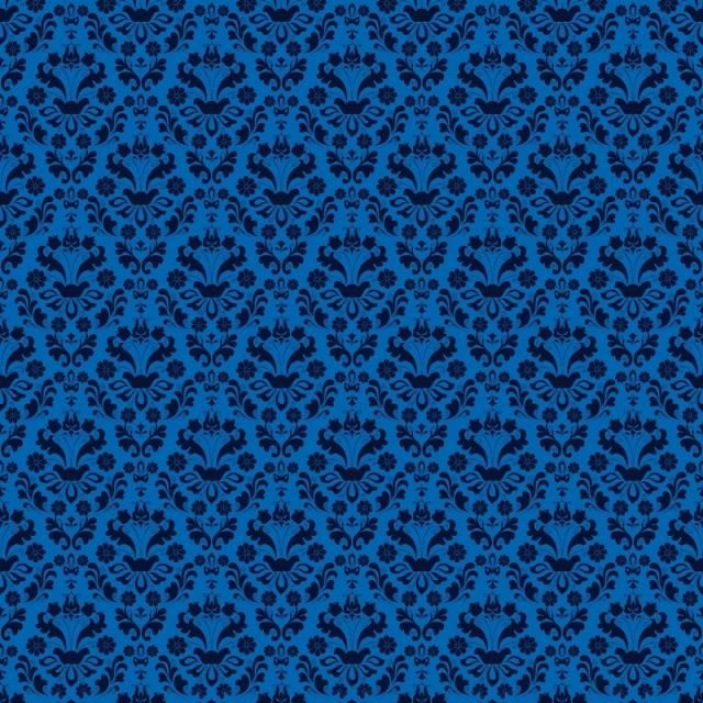 Seamless Luxury Ornamental Background Blue Damask Seamless Floral Pattern Abstract Antique Background Png And Vector With Transparent Background For Free Dow Floral Pattern Pattern Damask