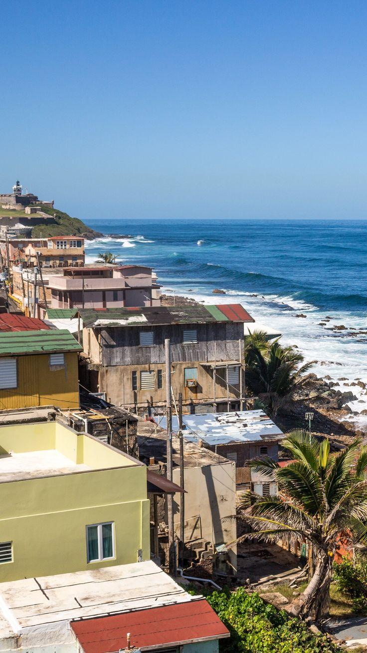 La Perla, Puerto Rico: The Slums of Old San Juan. The DEA has estimated that the drug trade inside this tiny village is a twenty million dollar enterprise.