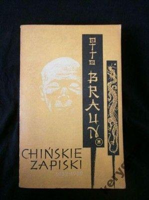 Chińskie zapiski 1932-1939 Braun