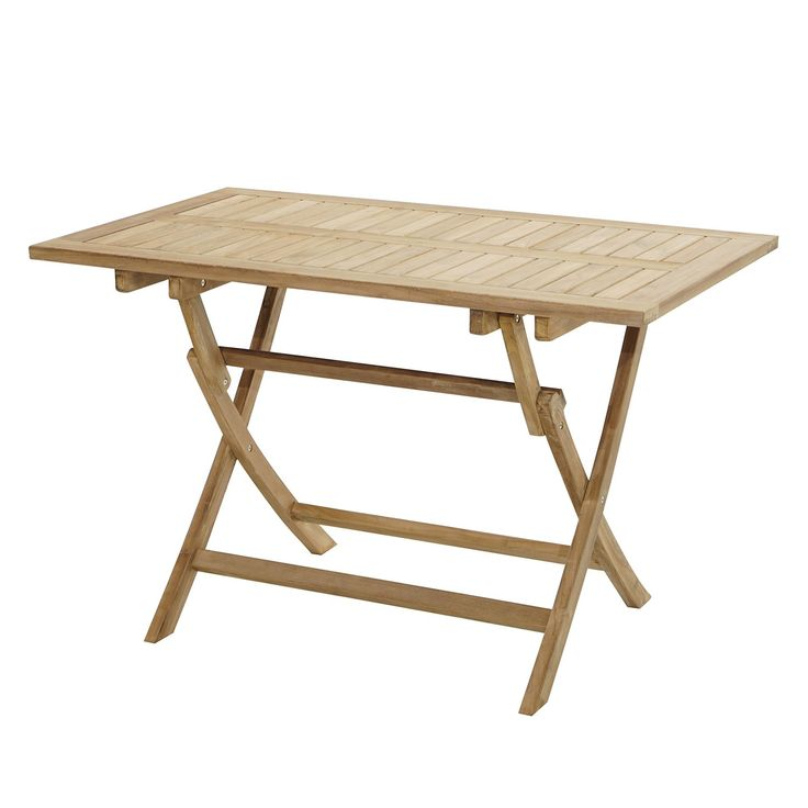 Ploss Gartenklapptisch York Ii Massivholz Teak Klappbar 100x75x60 Cm Bxhxt Klappbar Honigbraun Gartentisch Holz Klappbar Tisch Klappbarer Gartentisch