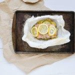 easy baked salmon | salmon en papillote | baking your favorite fish in parchment paper makes for the easiest 20 minute dinner with zero clean-up| how to cook | #simple #ovens #lemon #recipes