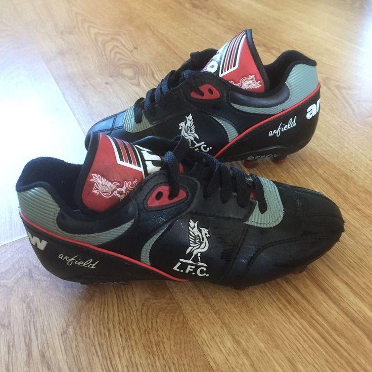 Vtg 80's Arrow Liverpool Football Club Kids Boys Football Boots Rare Uk 2   eBay
