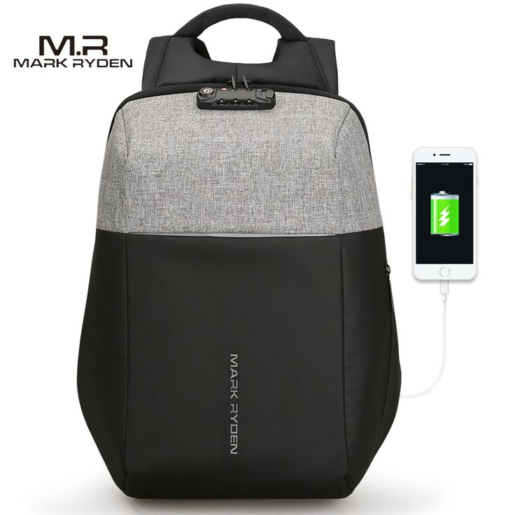 Markryden New Anti thief USB Recharging Laptop Backpack Hard Shell No Key TSA Customs Lock Design Backpack Men Travel Backpack -in Backpacks from Luggage & Bags on Aliexpress.com | Alibaba Group