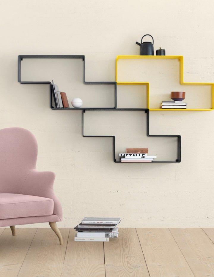 GUBI // Dedal shelf together with Bonaparte chair