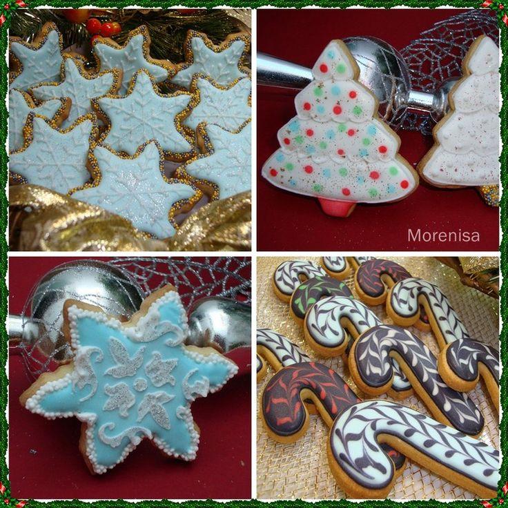 17 mejores ideas sobre Galletas Para Calcetín De Navidad en ...