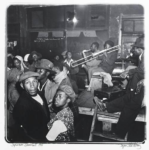 Jürgen Schadeberg: Sophiatown Dance hall 1951 - use music and lifestyle to teach about an era.