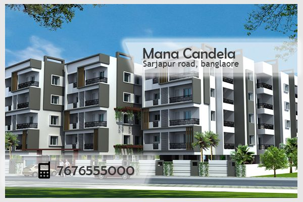 Mana Candela flats in Sarjapur road, an essence of being affordable Comes from value for money homes conceived by mana which gives consumers a strong sense of smartness.