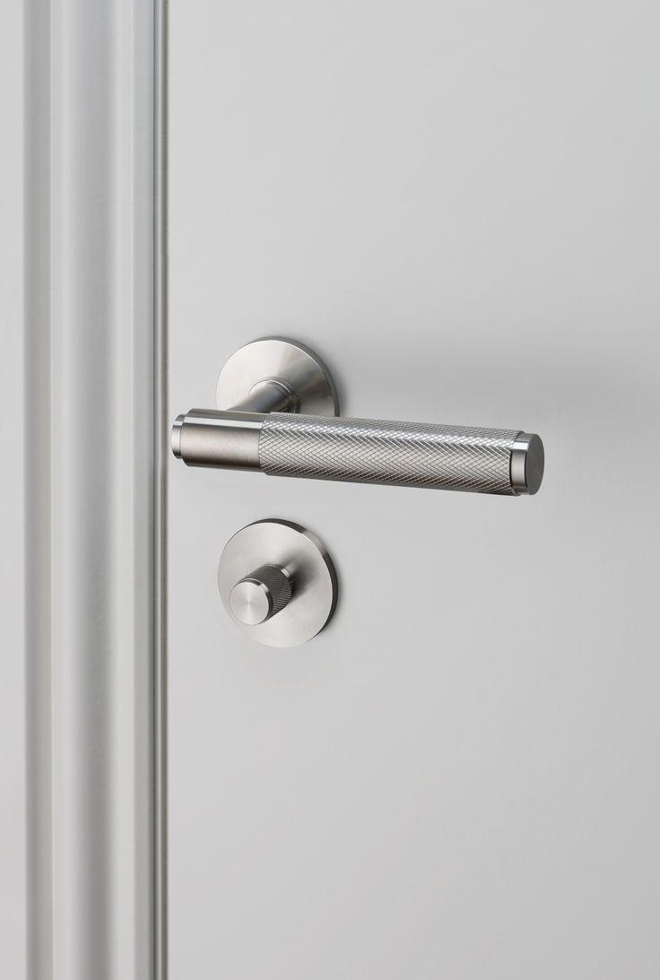 DOOR LEVER HANDLE / STEEL and THUMBTURN LOCK / STEEL by Buster + Punch.
