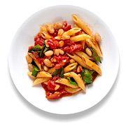Easy vegan pasta dishVegan Pasta Dishes, Easy Dinners, Semi Vegan, Vegan Dishes, Vegan Recipes, Healthy Pasta, Semivegan, Dinner Dishes, Pasta Beans