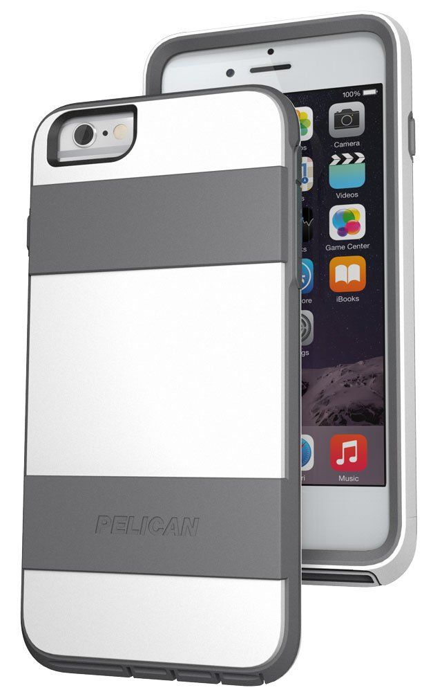 Pelican ProGear Voyager Phone Case + Kickstand for Apple iPhone 6 PLUS White (Not for the 4.7 Inch)