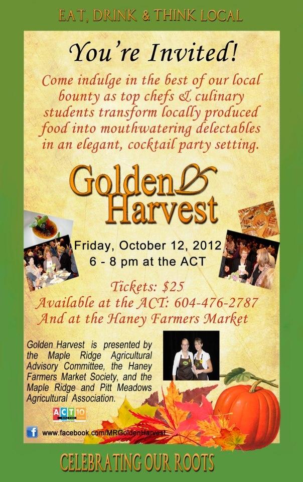 Golden Harvest - Oct 12, 2012