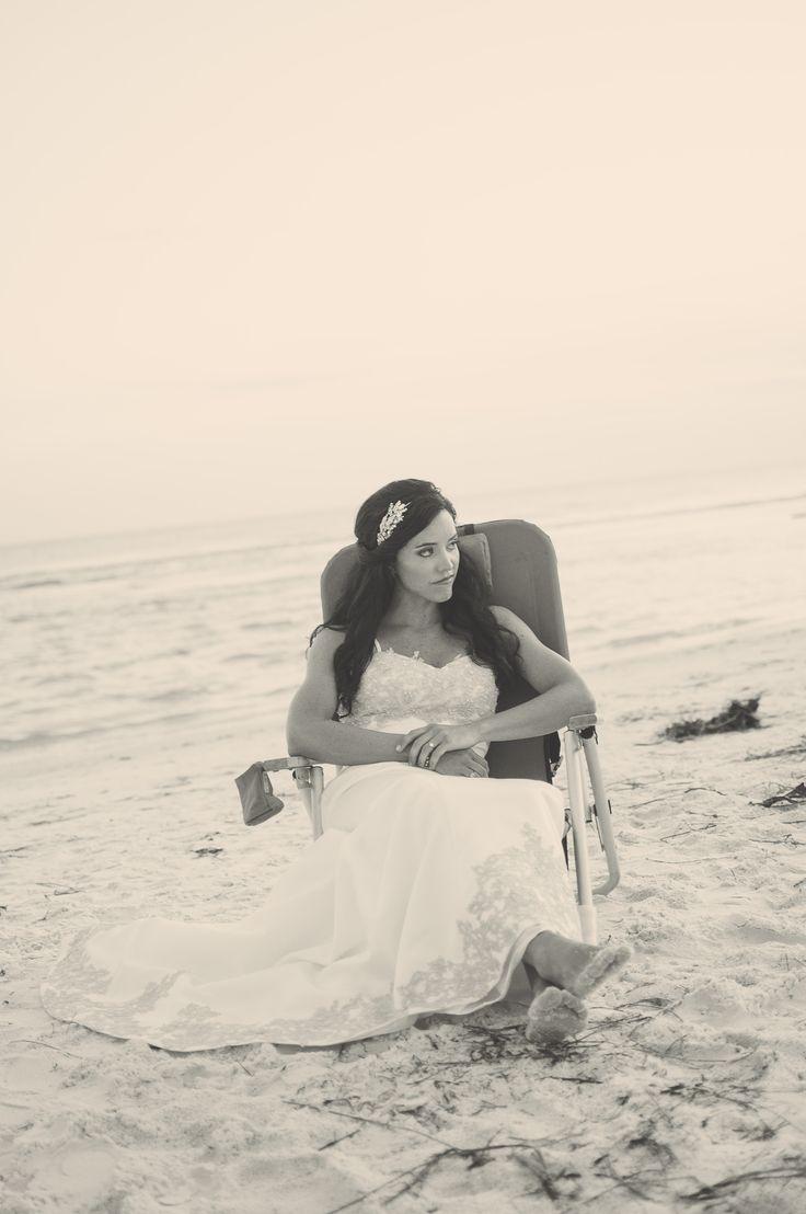 Beach Bridal Session Siesta Key, Florida
