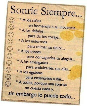 #sonrie