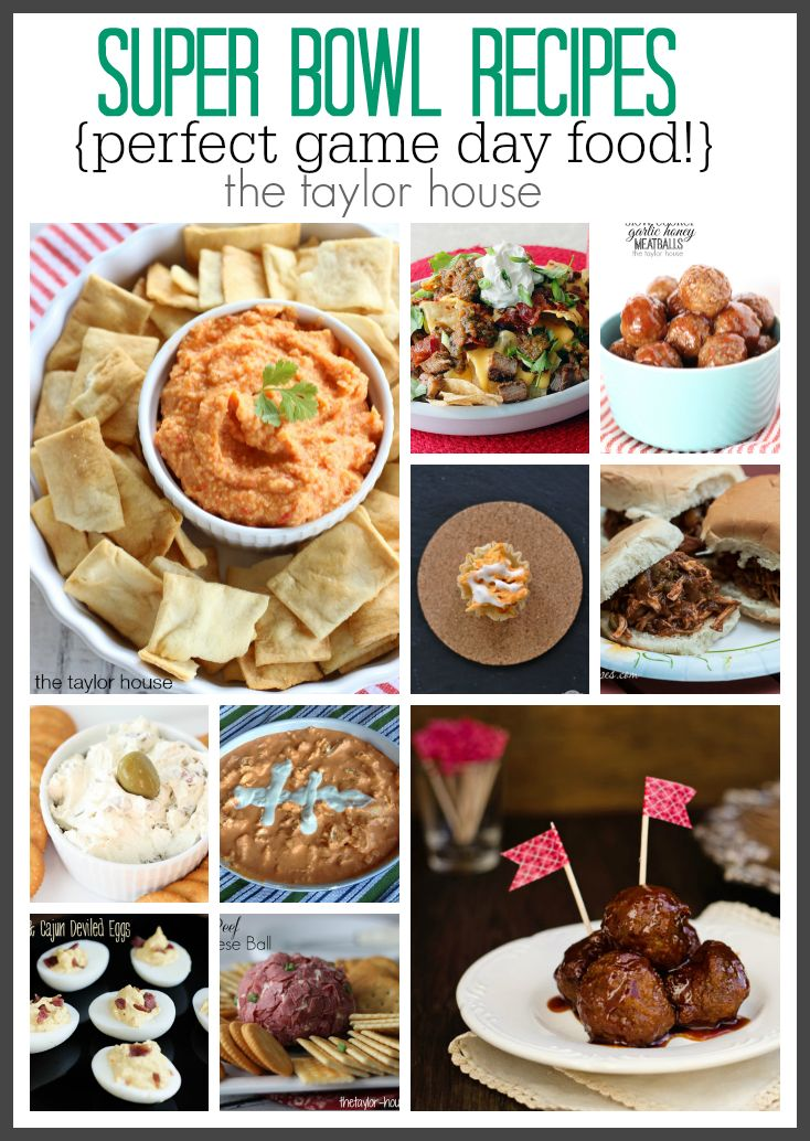 Delicious Super Bowl Recipes your friends and family will love!