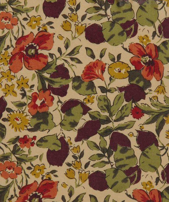 Liberty Art Fabrics Poppy and Honesty P Tana Lawn