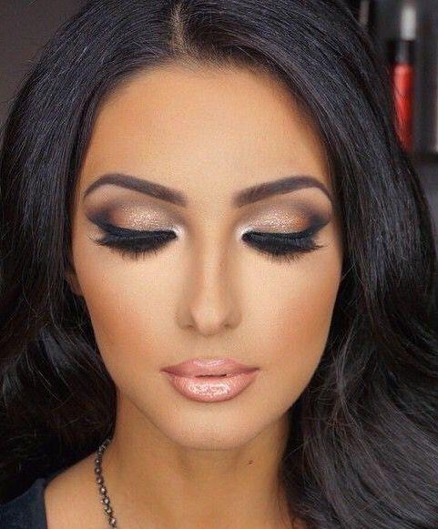 Jesienny make up: brązowe oczy w 12 odsłonach
