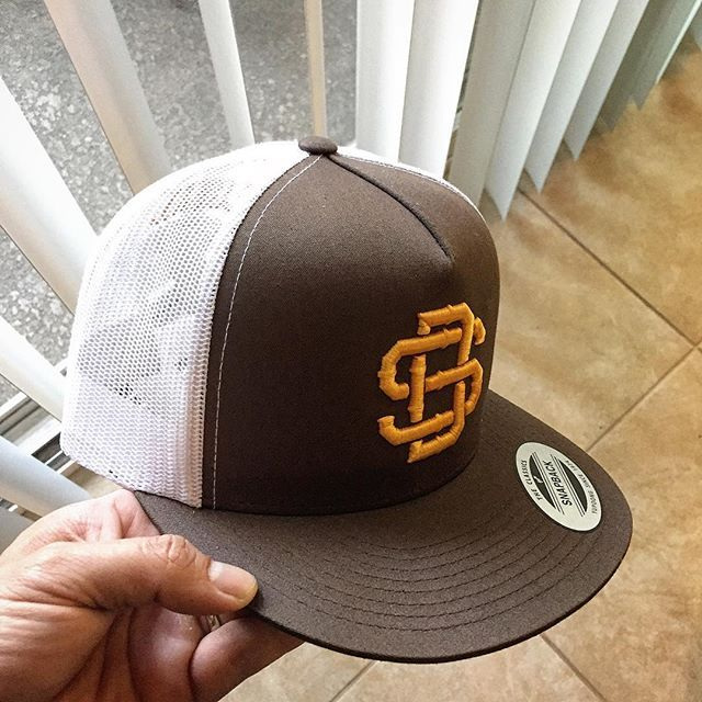 Come and grab some Brown and Gold Trucker Mesh hats tomorrow at Chicano Park Day. Early bird gets the tequila worm. Bring your whole family. #sandiego #sdca #bringbackthebrown #sandiego #sandiegoconnection #sdlocals #sandiegolocals - posted by SD Bolt Complex | FAM⚡️LY https://www.instagram.com/sdboltcomplex. See more post on San Diego at http://sdconnection.com