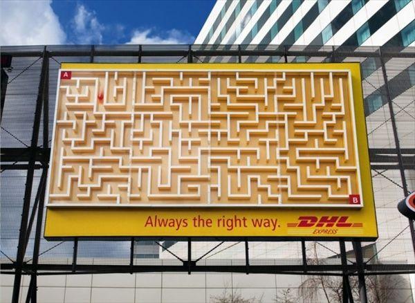 一段上を行くインパクト ユニークな発想の屋外広告19選 - http://naniomo.com/archives/2435