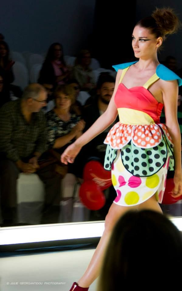 THEIAlab Students Fashion Show@AXDW! The POP ART project!