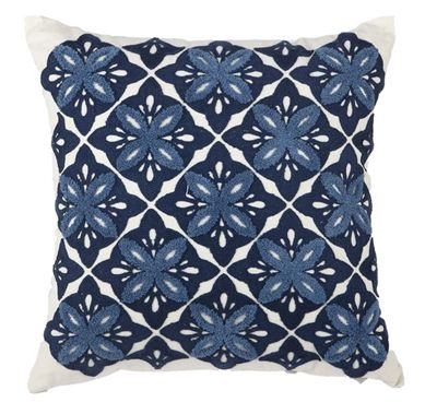 Click Here To View Larger Image Embroidered Throw Pillows