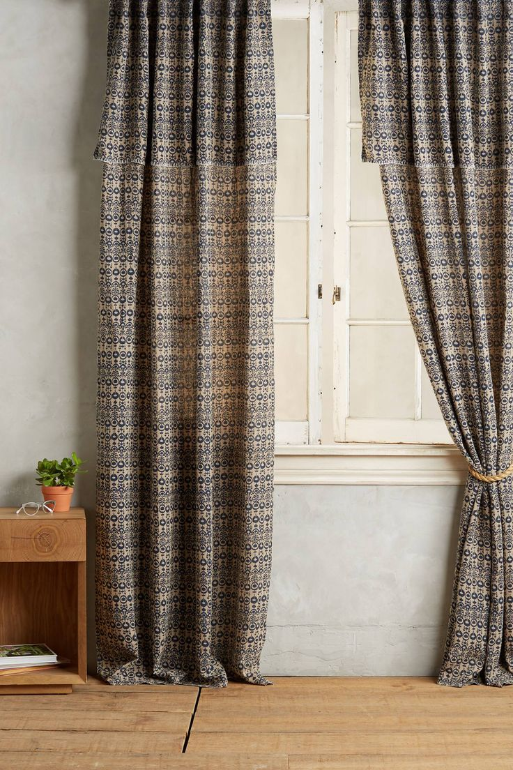 Shop the Ikat Blossom Curtain and more