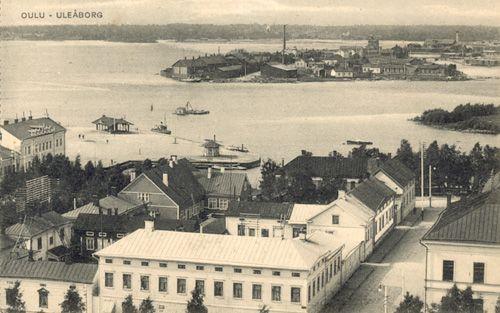 Vanhoja laivapostikortteja