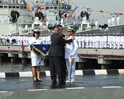 KRI RE Martadinata-331 Perkuat Pertahanan dan Keamanan Laut Indonesia