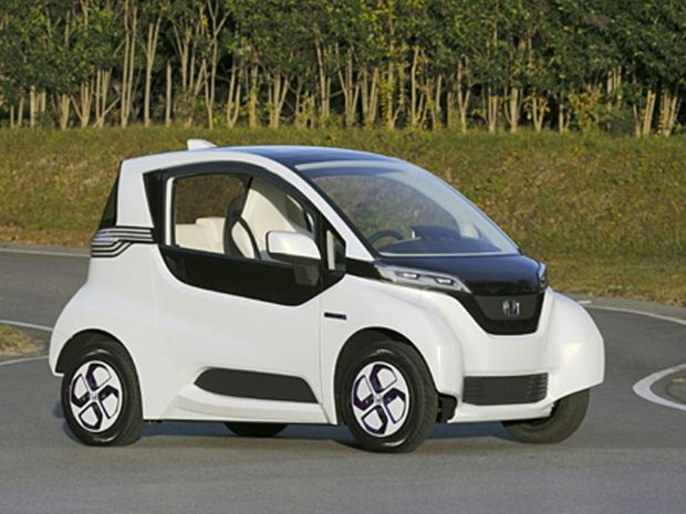 Honda Micro Ev Commuter Prototype Electric City Car Cars Vehicles