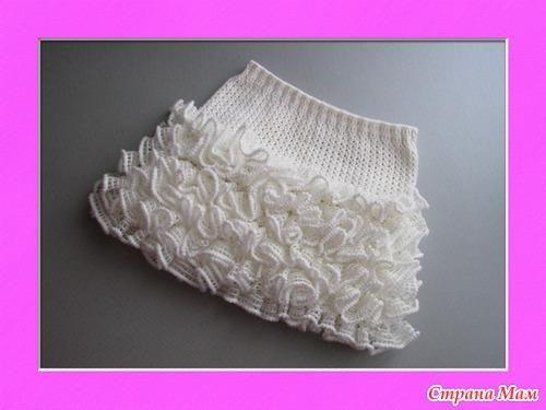 Вязание юбка донателла