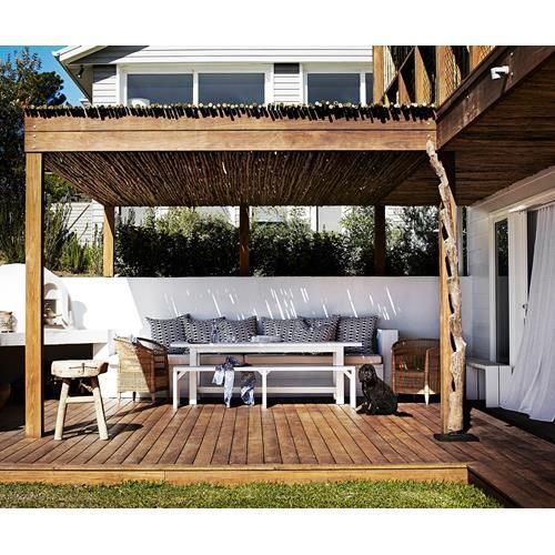 Take inspiration from far-flung places and create an exotic outdoor room. From…