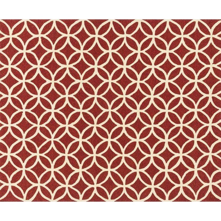 indoor u0026 outdoor red and ivory geometric beach rug 8 x 10 ft