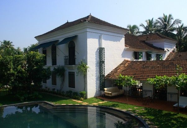 Casa Palacio Siolim House is a 350 year old Heritage Hotel in Goa, built in 1675.