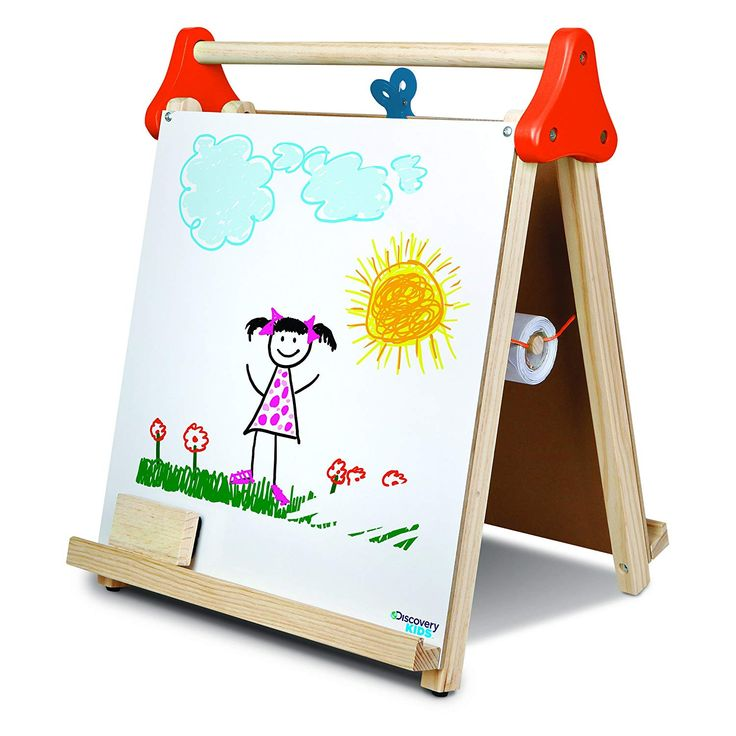 Discovery kids 3in1 tabletop dry erase