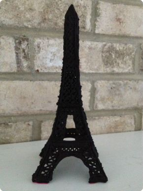 Cake That! Inc.: Eiffel Tower Cake Topper Tutorial!